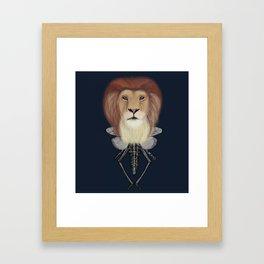 El señor Almada Framed Art Print