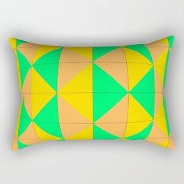 Harlequin bulge Rectangular Pillow