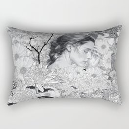 Where Dreams Entwine Rectangular Pillow