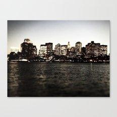 Same Spot, Different Light Canvas Print
