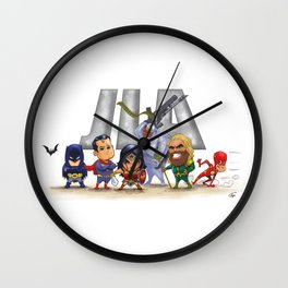 JLA Wall Clock