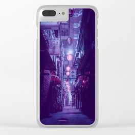 Tokyo Nights / One More Light / Liam Wong Clear iPhone Case