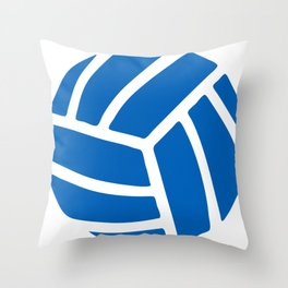 Volleyball Icon Throw Pillow