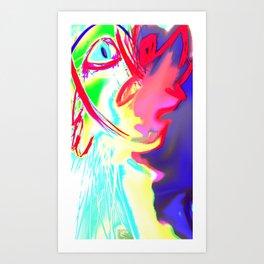 Rhino-More Art Print