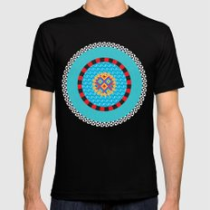 Deco Art SMALL Black Mens Fitted Tee
