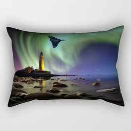 Auroral Splendour For The Vulcan Rectangular Pillow