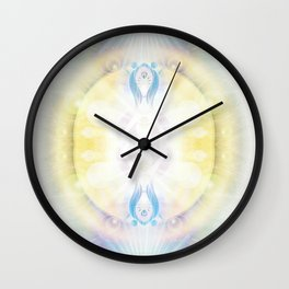 2 Of Cups Wall Clock