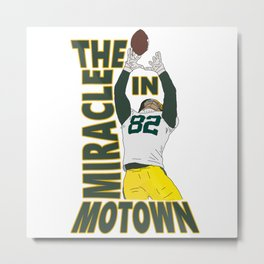 The Miracle in Motown Metal Print