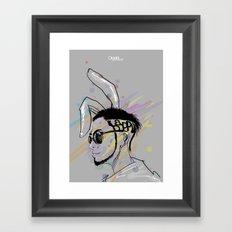 Wish A Rocking Easter! Framed Art Print