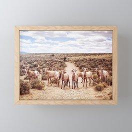 The Final Frontier Framed Mini Art Print