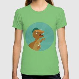 The Dino-zoo: Kangaroo-saurus T-shirt