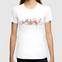 bikes T-shirts featuring bikes by takmaj