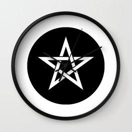 Pentagram Ideology Wall Clock