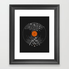 re/cordless Framed Art Print