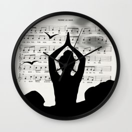 Sister moon Wall Clock