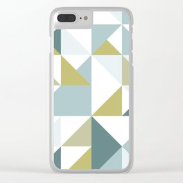 Modern Geometric 15 Clear iPhone Case