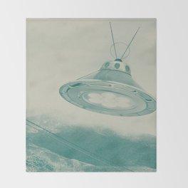 UFO II Throw Blanket