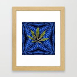 Loving in Blue.... Framed Art Print