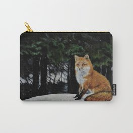Red Fox of Algonquin by Teresa Thompson Carry-All Pouch