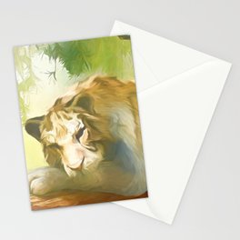 Chilling Tiger Stationery Cards
