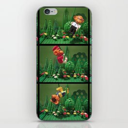we love the jungle iPhone Skin