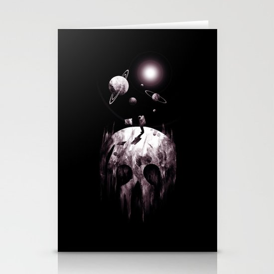 the darkside Stationery Cards