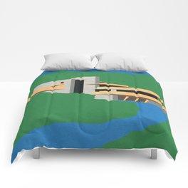 Falling Water Comforters