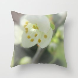 Blossom Time Throw Pillow