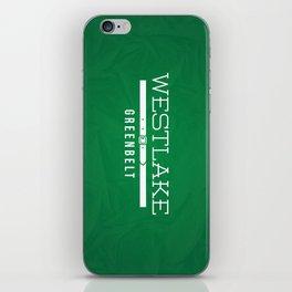 Westlake Greenbelt iPhone Skin