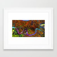 new orleans Framed Art Prints featuring new orleans by donphil
