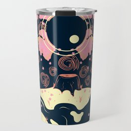 Under the Cherry Blossoms Travel Mug