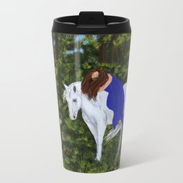 Temptress in the Forest Travel Mug