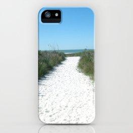 Paradise in Siesta Key iPhone Case