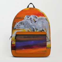 Polar Bears Surviving Backpack