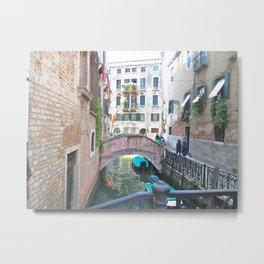 Springtime in Venice, Italy Metal Print