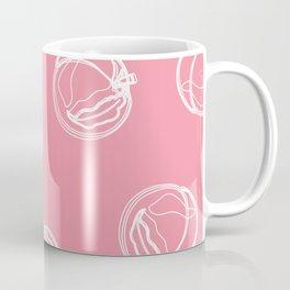 Pink Peaches Coffee Mug
