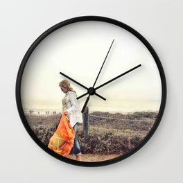 Beach Wanderlust Wall Clock