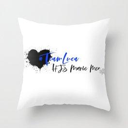 Team Luca Throw Pillow