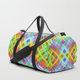 Colorful digital art splashing G71 Duffle Bag