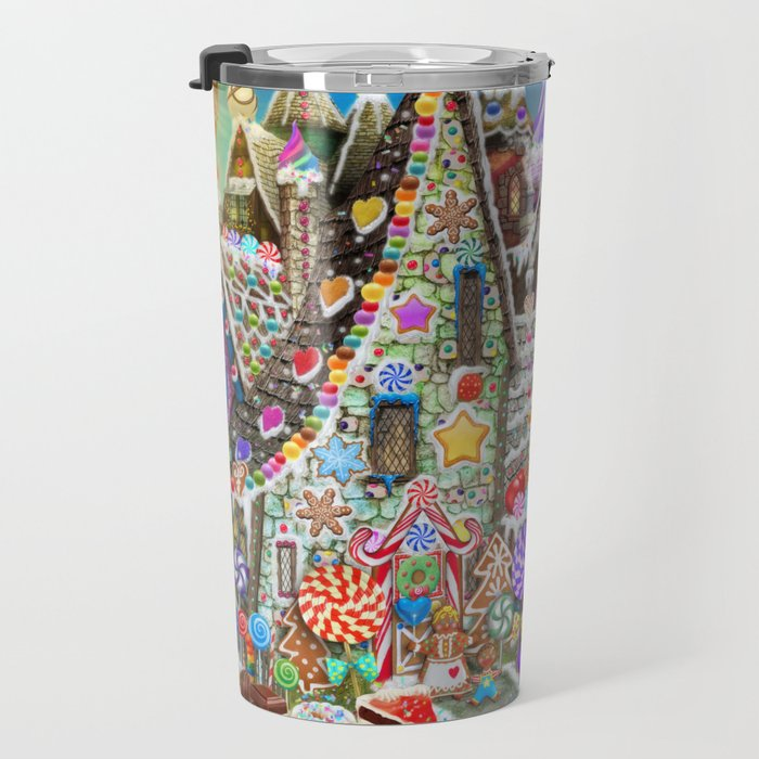 The Gingerbread Mansion Travel Mug