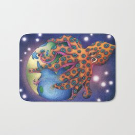 """Octo World"" Bath Mat"