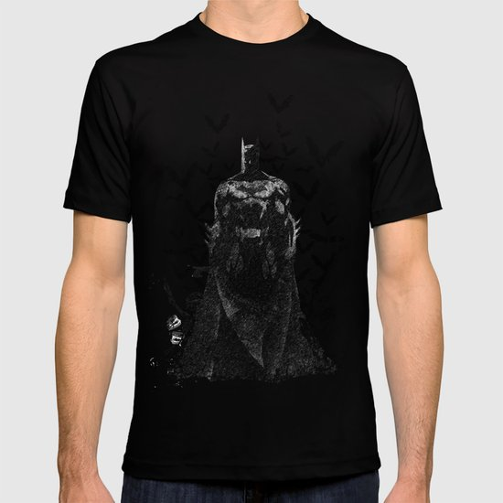 The night rises B&W T-shirt