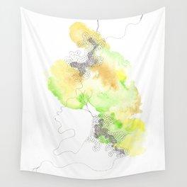 Scandi Micron Art Design | 170412 Telomere Healing 24 Wall Tapestry