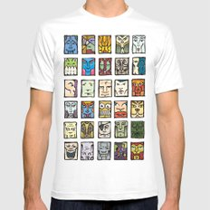 Faces Mens Fitted Tee White MEDIUM