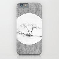Scots Pine Paper Bag Grey Slim Case iPhone 6s