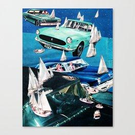 Ocean Roads Canvas Print