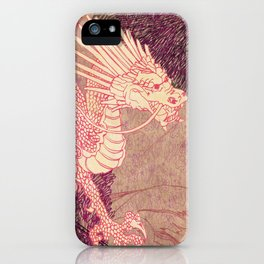 The Red Dragon iPhone Case