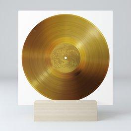 Voyager Golden Record - B-Side White Mini Art Print