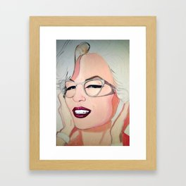 Norma Jeane Baker Framed Art Print