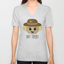 Hay There! Unisex V-Neck